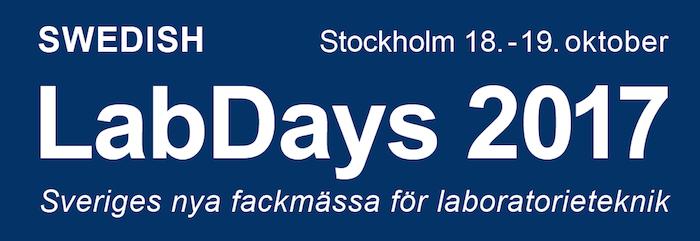 ClaraLab ställer ut på Swedish LabDays 2017!